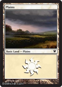 Plains (252), Innistrad, Magic the Gathering