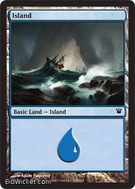 Island (254), Innistrad, Magic the Gathering