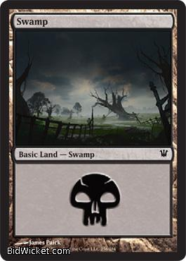 Swamp (256), Innistrad, Magic the Gathering