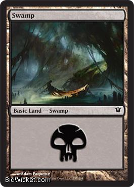Swamp (257), Innistrad, Magic the Gathering