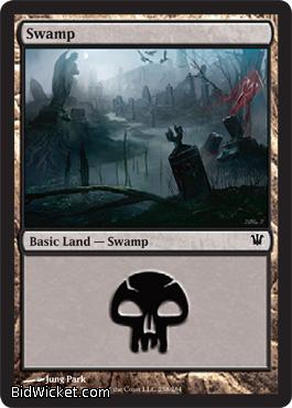 Swamp (258), Innistrad, Magic the Gathering
