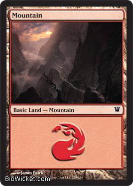 Mountain (259), Innistrad, Magic the Gathering