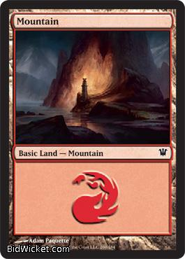 Mountain (260), Innistrad, Magic the Gathering