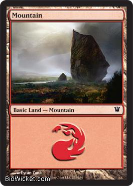 Mountain (261), Innistrad, Magic the Gathering