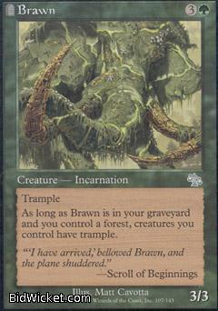 Brawn, Judgment, Magic the Gathering