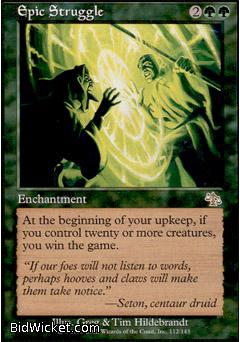 Epic Struggle, Judgment, Magic the Gathering