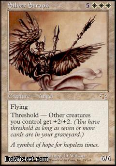 Silver Seraph, Judgment, Magic the Gathering