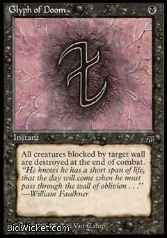 Glyph of Doom, Legends, Magic the Gathering