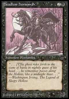 Headless Horseman, Legends, Magic the Gathering