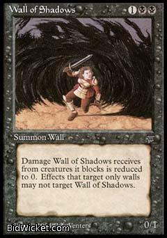 Wall of Shadows, Legends, Magic the Gathering