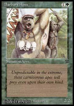 Barbary Apes, Legends, Magic the Gathering