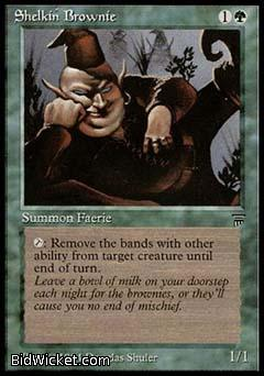 Shelkin Brownie, Legends, Magic the Gathering