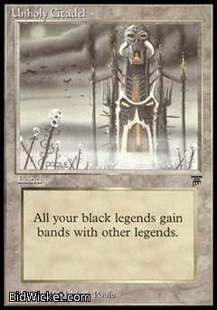 Unholy Citadel, Legends, Magic the Gathering