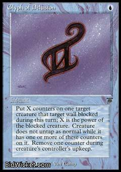 Glyph of Delusion, Legends, Magic the Gathering