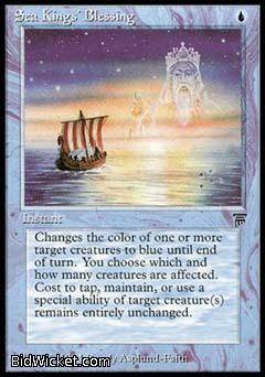 Sea Kings' Blessing, Legends, Magic the Gathering