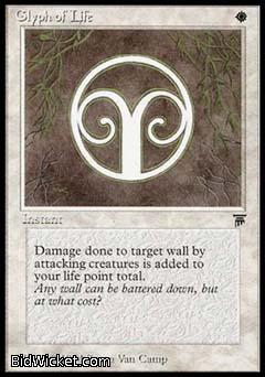Glyph of Life, Legends, Magic the Gathering