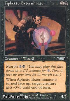 Aphetto Exterminator, Legions, Magic the Gathering