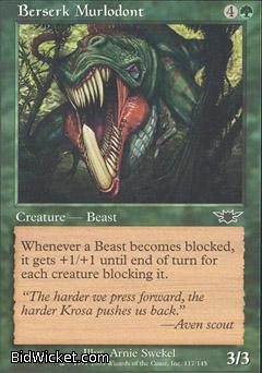 Berserk Murlodont, Legions, Magic the Gathering