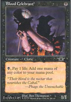 Blood Celebrant, Legions, Magic the Gathering