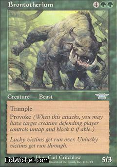 Brontotherium, Legions, Magic the Gathering