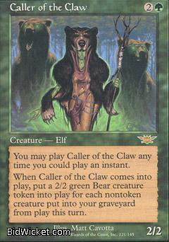 Caller of the Claw, Legions, Magic the Gathering