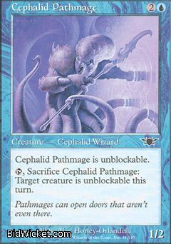 Cephalid Pathmage, Legions, Magic the Gathering