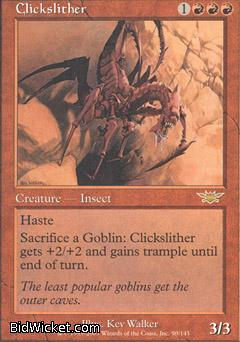 Clickslither, Legions, Magic the Gathering
