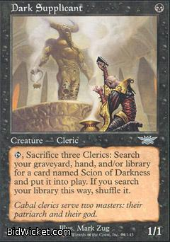 Dark Supplicant, Legions, Magic the Gathering