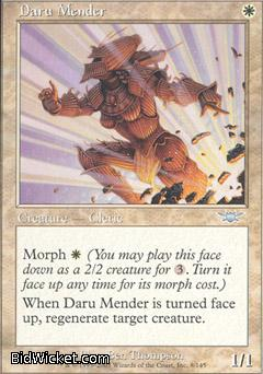 Daru Mender, Legions, Magic the Gathering