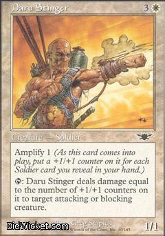 Daru Stinger, Legions, Magic the Gathering