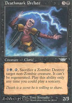 Deathmark Prelate, Legions, Magic the Gathering