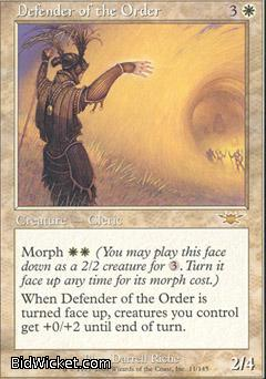 Defender of the Order, Legions, Magic the Gathering