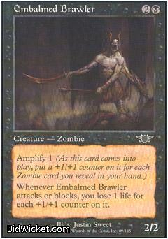 Embalmed Brawler, Legions, Magic the Gathering