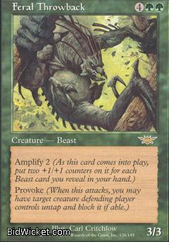 Feral Throwback, Legions, Magic the Gathering