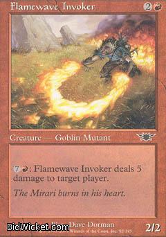 Flamewave Invoker, Legions, Magic the Gathering