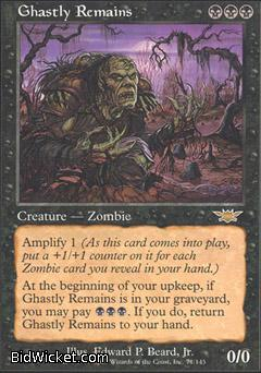 Ghastly Remains, Legions, Magic the Gathering