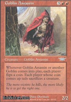 Goblin Assassin, Legions, Magic the Gathering