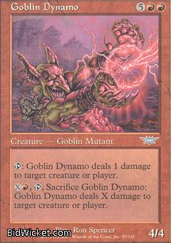 Goblin Dynamo, Legions, Magic the Gathering