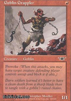Goblin Grappler, Legions, Magic the Gathering