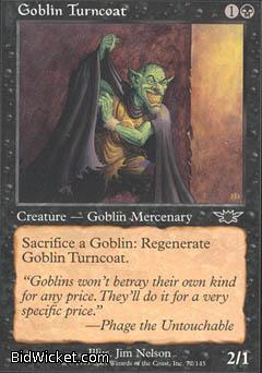 Goblin Turncoat, Legions, Magic the Gathering
