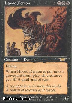 Havoc Demon, Legions, Magic the Gathering