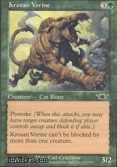 Krosan Vorine, Legions, Magic the Gathering