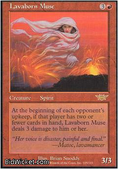 Lavaborn Muse, Legions, Magic the Gathering