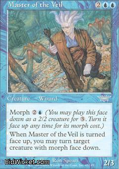 Master of the Veil, Legions, Magic the Gathering