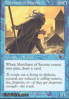Merchant of Secrets, Legions, Magic the Gathering