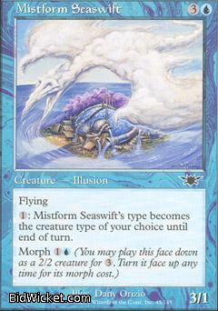 Mistform Seaswift, Legions, Magic the Gathering