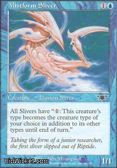 Mistform Sliver, Legions, Magic the Gathering