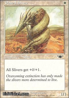 Plated Sliver, Legions, Magic the Gathering