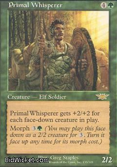 Primal Whisperer, Legions, Magic the Gathering