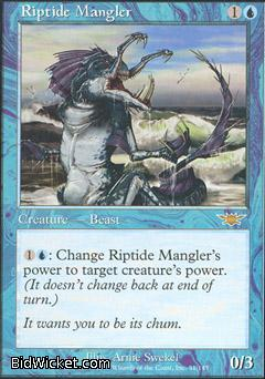 Riptide Mangler, Legions, Magic the Gathering